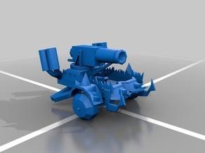 Ork artillery wagon