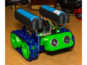 SMARS modular robot - modified wheels
