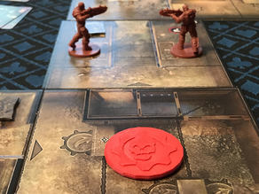 Gears of War: Turn Marker (Board Game)
