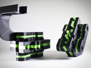 DIY PrintRite Y End Block and modular parts