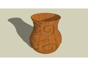 Vase Spiral Ornament