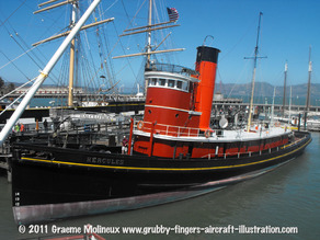 Hercules Steam Tug
