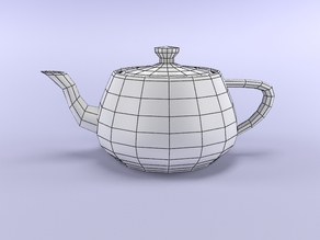 Simple Teapot Easy Print
