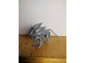 Solgaleo - 3D Print Ready