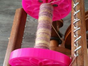Scottish Tension Spinning Wheel Bobbin