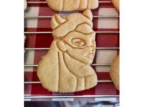 Catwoman Cookie Cutter