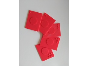 Playing cards with relief