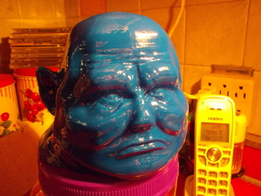 Sontaran Bust [Dr Who]