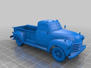 Remix of stryker123's 28mm 1949 Chevy 3100