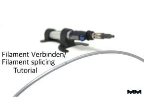 Filament verbinden/ Filament splicing Tutorial