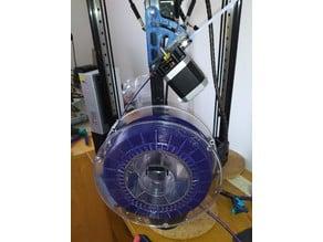 Kossel Extruder Mount Rotatable 0-40°