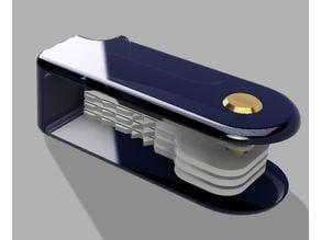 Pocket-knife style keychain