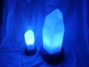Lampada cristallo quarzo -Quartz crystal lamp