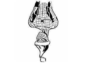 Spiderman stencil 3