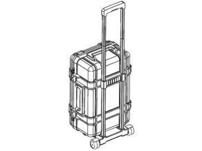Plastic Enclosure and Luggage
