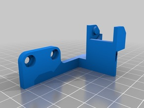X cable chain adapter for E3D V6 direct mount