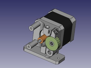 Compact Direct Drive Extruder 3mm and 1.75mm