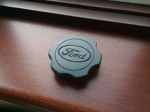 Fuel Cap Grip with Ford Logo