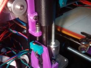 Adjustable Z endstop for Prusa i3