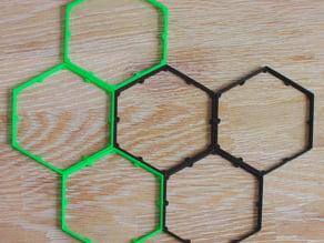 Magnetic Hex Tile Holder for Eclipse