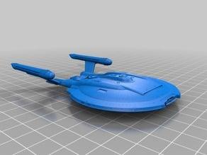Star Trek NX-02 Columbia 1:2000