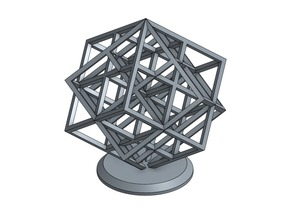 Double lattice cube