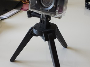 Foldable Camera Tripod, Gopro/SJCAM compatible