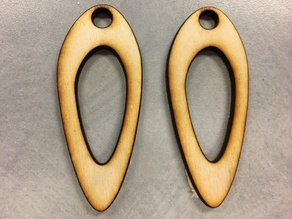Rounded Hole Earrings