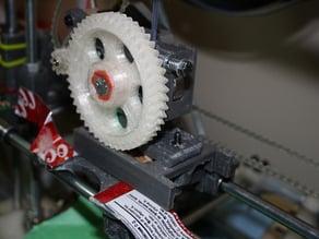 Gregs extruder spacer/fan mount
