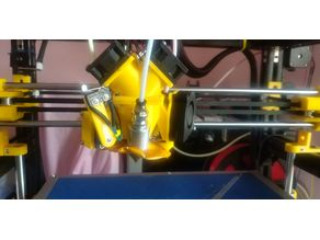 Hypercube Evolution Diamond Extruder HXT900 Servo Microswitch Z Probe