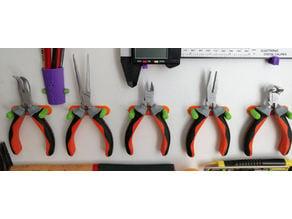 support petites pinces, plier holder
