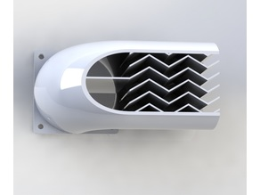 60mm Fan silencer