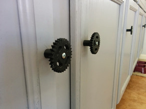 Industrial Gear Cabinet Knob