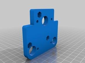 adaptor plate for A30 and direct bondtech left hand e3d v6