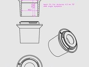 Pentax telescope eyepiece adapter