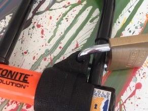 Kryptonite mini xtra safety bike lock