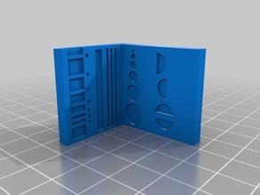 Scalar - Calibration Set of plastic parts