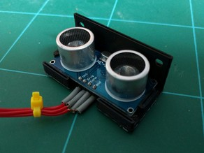 Ultrasonic sensor mount (HC-SRF04 / SR04)