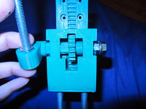 Mini Drill Press for PCB (Reworked for Skil 1415 LC)