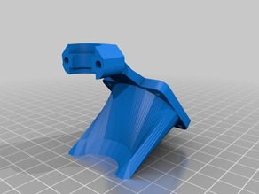 E3D V6 Mount Remix without Auto-Level-Mount