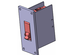 Circuit Breaker housing in-wall