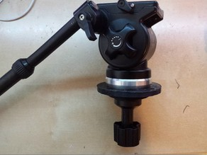 75mm tripod head bowl - Flange mount