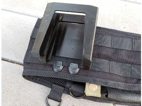 MOLLE Clip for Nerf Magazine Carrier