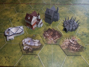 Buildings for Battlelore 2nd edition