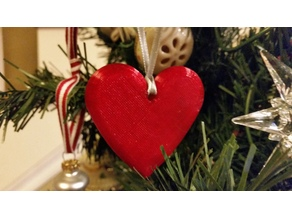 Heart Ornament - Designed by a five year old