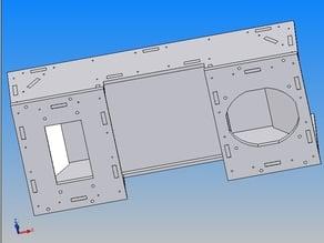 CTC Heizung heating aus 5mm Leimholzplatten