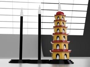 Tower of Hanoi - Tran Quoc Pagoda
