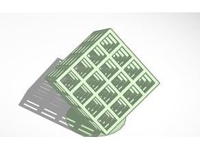 4 By 4 Lattice Cube