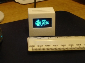 OLED World Clock box