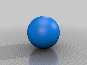 Lithophane / 3d model of Saturn